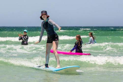 35-Learning to Surf. Fran Solly - 9 Points  2nd Place Judges Vote.