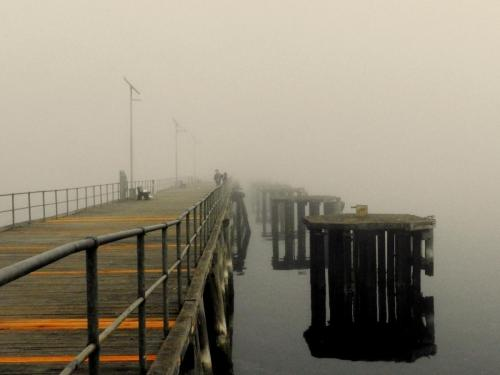 5 Jetty in Fog - J Hetherington- 6.9 Points